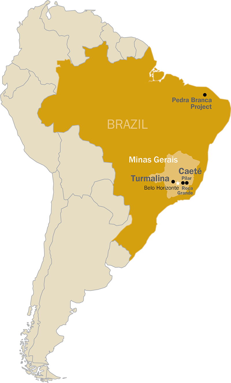 Gold Mines In World Map.Home Jaguar Mining Inc